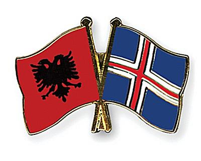 9 May 1976, the establishment of diplomatic relations between Albania and Iceland