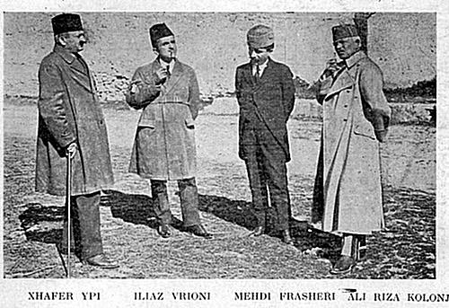 6 May 1936, the government of Mehdi Frashëri is solidarized with fascist aggression
