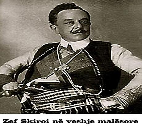 21 May 1913, Zef Skiroi announced that the Arberesh of Italy raised the Albanian flag in Milan