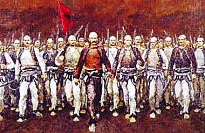 8 May 1910, took place the battle of Carralaves, between the Albanian insurgents and Ottoman armies
