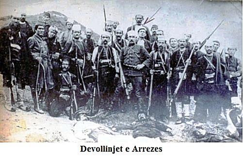 7 Maj 1914, andartët grekë sulmuan Nikolicën dhe Arrezën