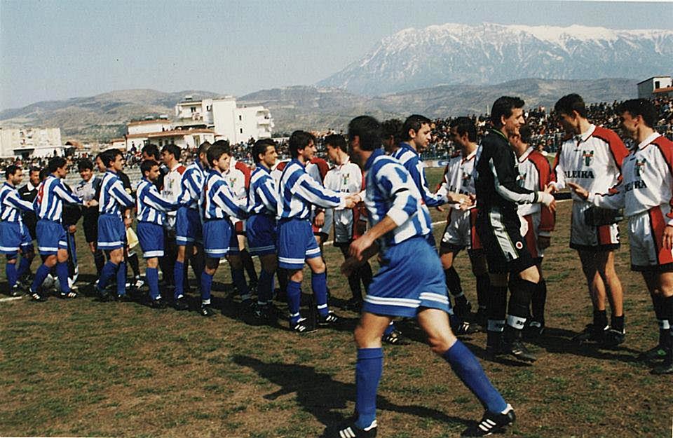 28 May 2000 Tirana team, won the 61st Albanian football