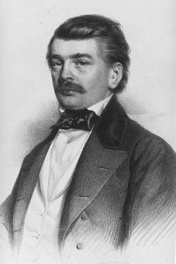 (Shqip) 20 nëntor 1813, lindi Franz Miklosich.