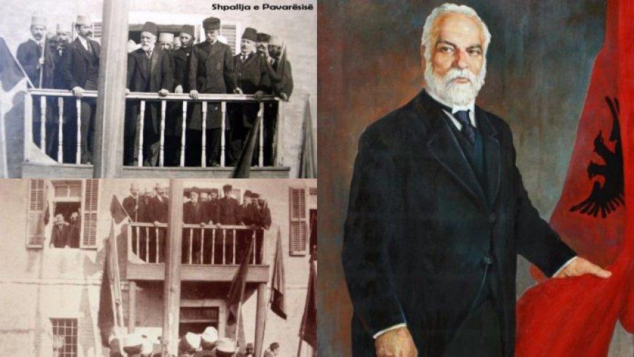 5 Nëntor 1912, Ismail Qemali dhe Luigj Gurakuqi mbledhin koloninë e Bukureshtit