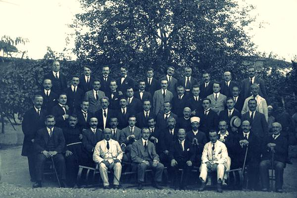 1 November 1921, the first session of the Albanian Parliament