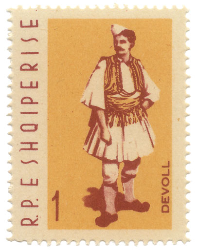 1 May 1913, were emitted the first Albanian stamps