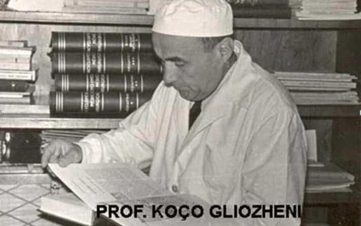 (Shqip) 27 korrik 1913, lindi ne Korçë Koço Gliozheni, mjek gjinekolog shqiptar.