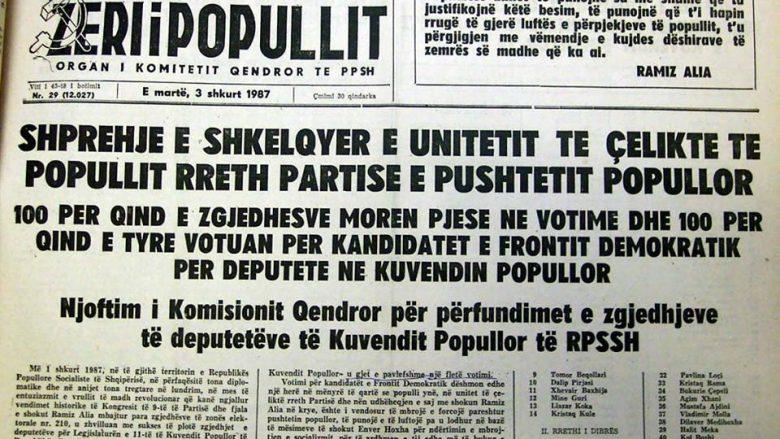 8 January 1934, was born the journalist Fatos Cekodhima in Radhima